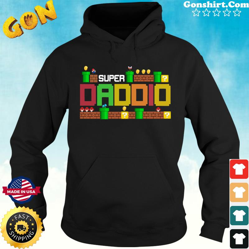 Official Super Daddio - Happy Father's Day 2021 Shirt Hoodie