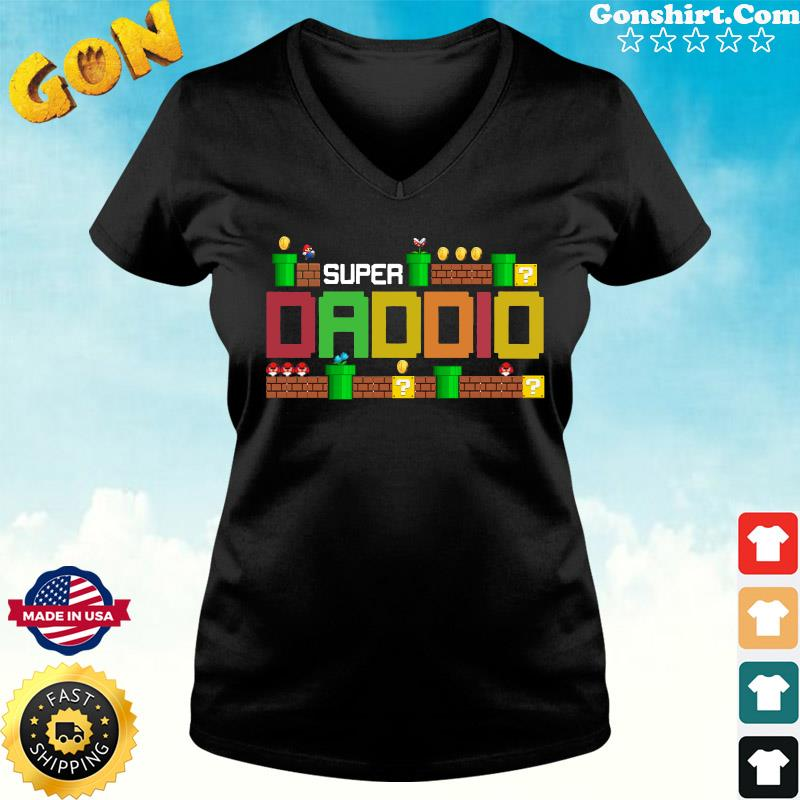 Official Super Daddio - Happy Father's Day 2021 Shirt ladies tee