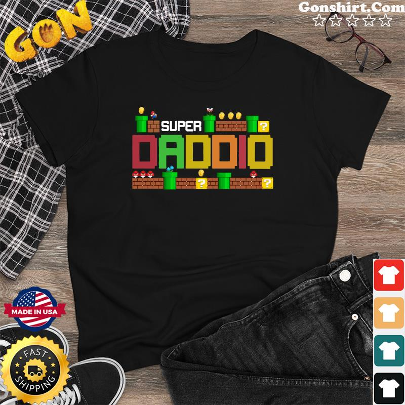 Official Super Daddio - Happy Father's Day 2021 Shirt