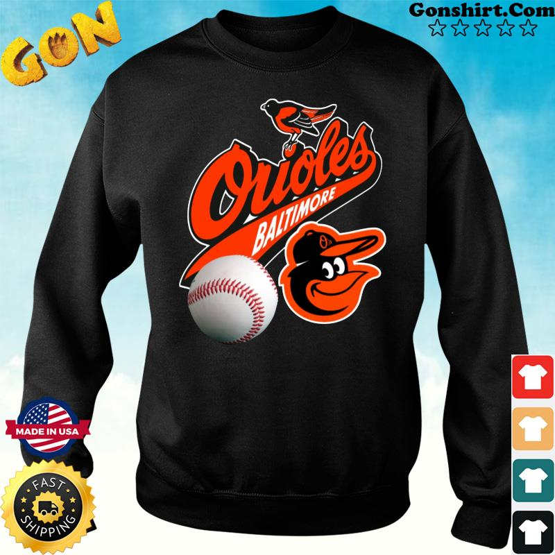 Official The Baltimore Orioles Baseball Shirt Sweater