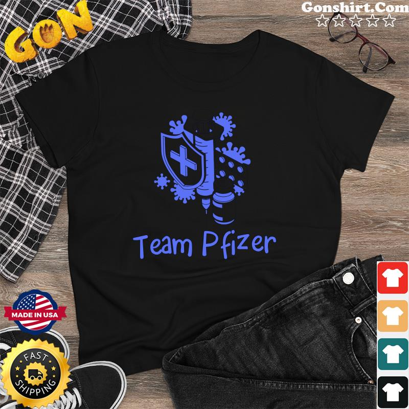 Official Vaccinated 2021 - Team Pfizer Shirt