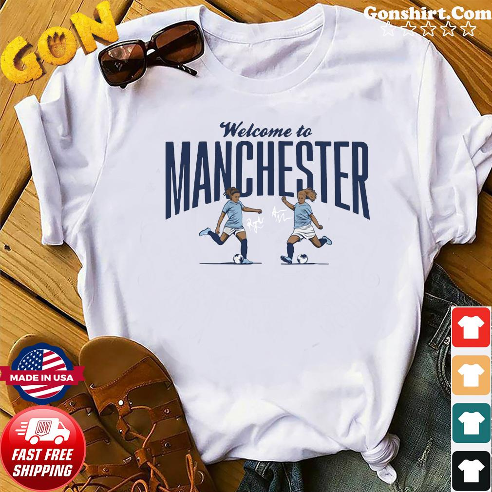 Lavelle & Mewis Welcome to Manchester Official T-Shirt