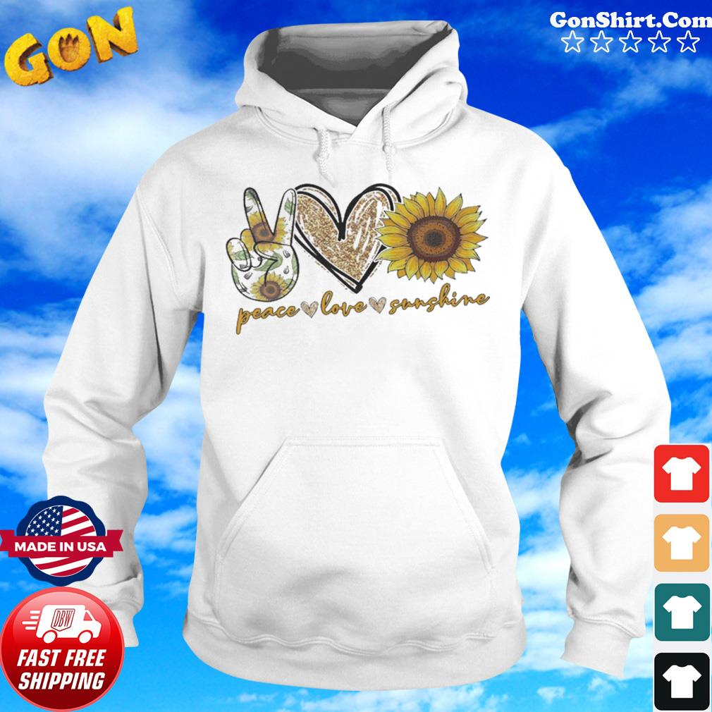 Peace Love Sunshine Diamond s Hoodie