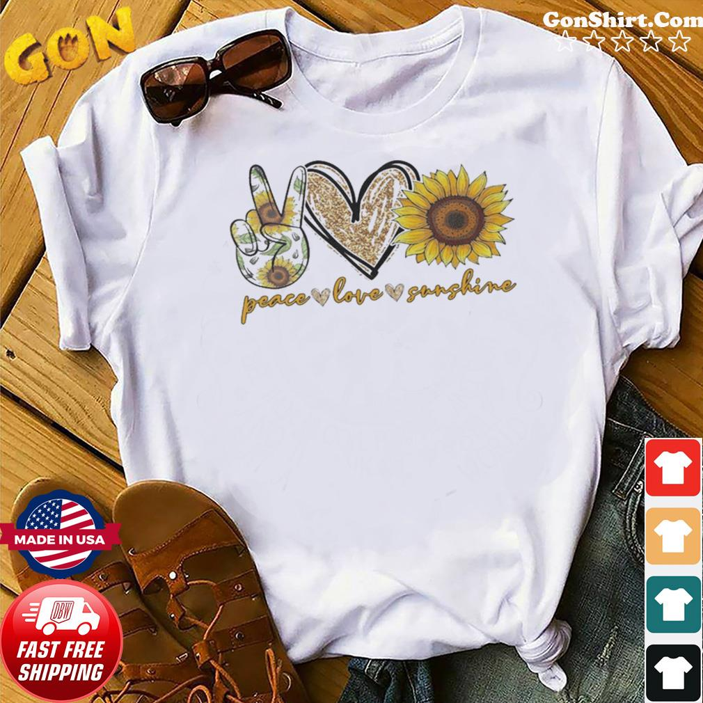 Peace Love Sunshine Diamond shirt