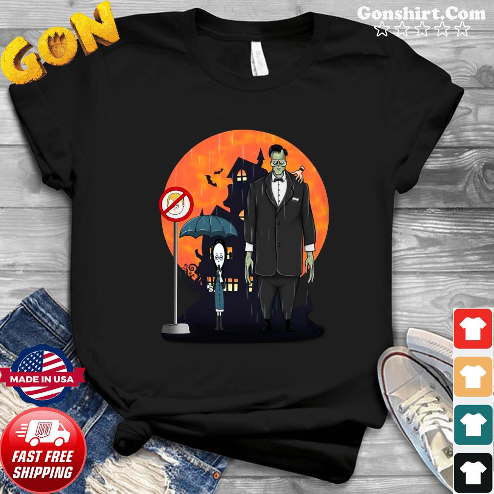 Wednesday Frankenstein Halloween shirt