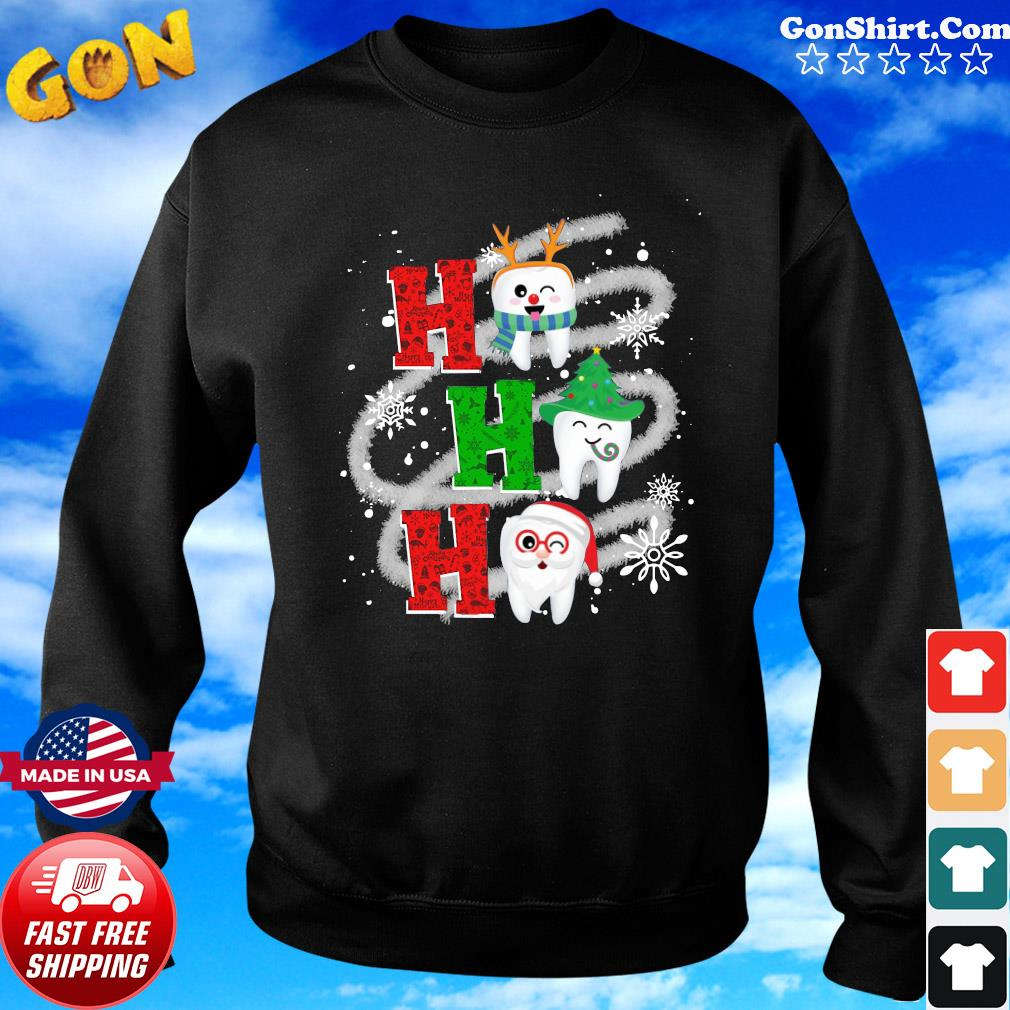 Dental Ho Ho Ho Christmas Gift Sweatshirt