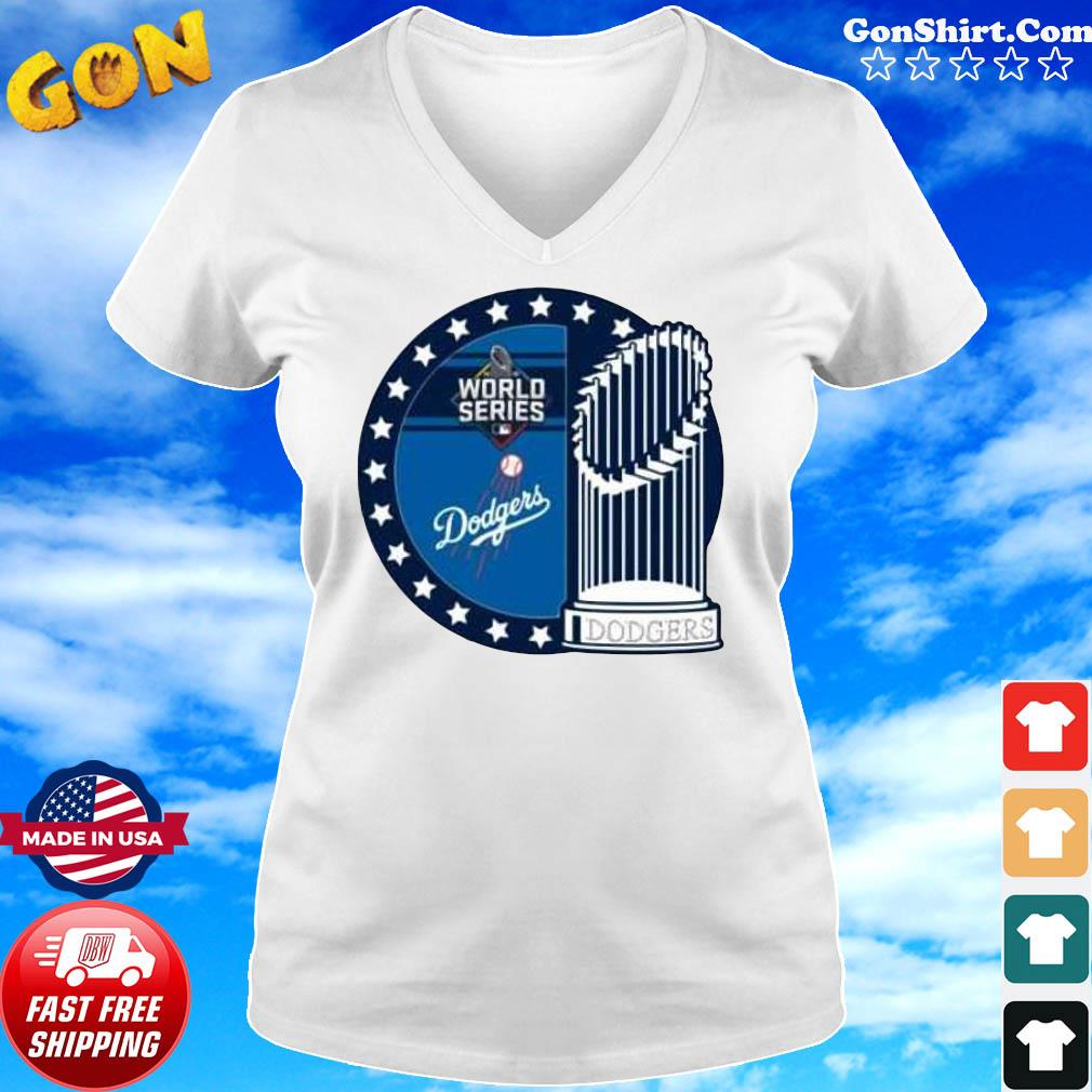 Dodgers World Series Los Angeles Champions Shirt Ladies tee