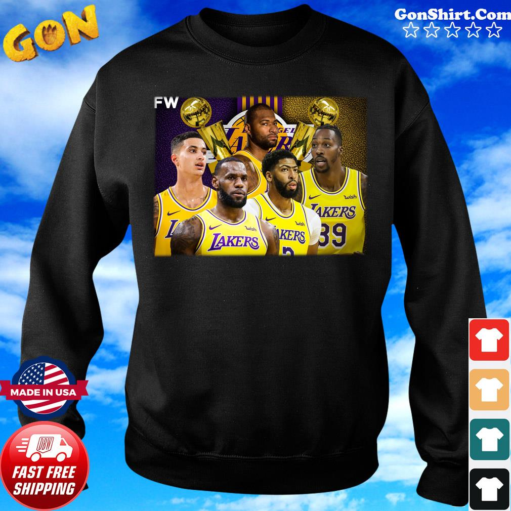Los Angeles Lakers The 2020 NBA Championship Win Shirt Sweater